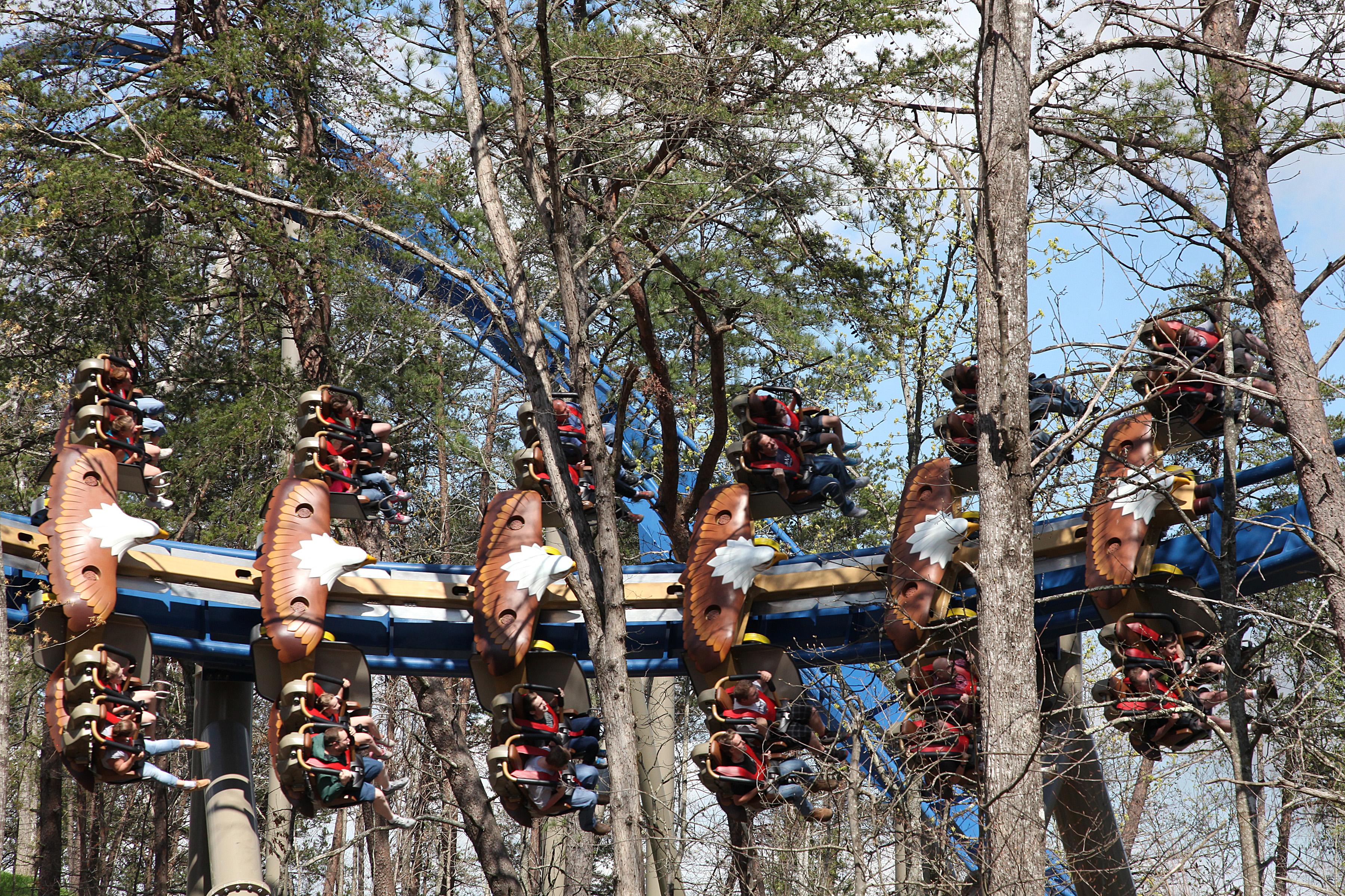 America's First Wing Coaster
