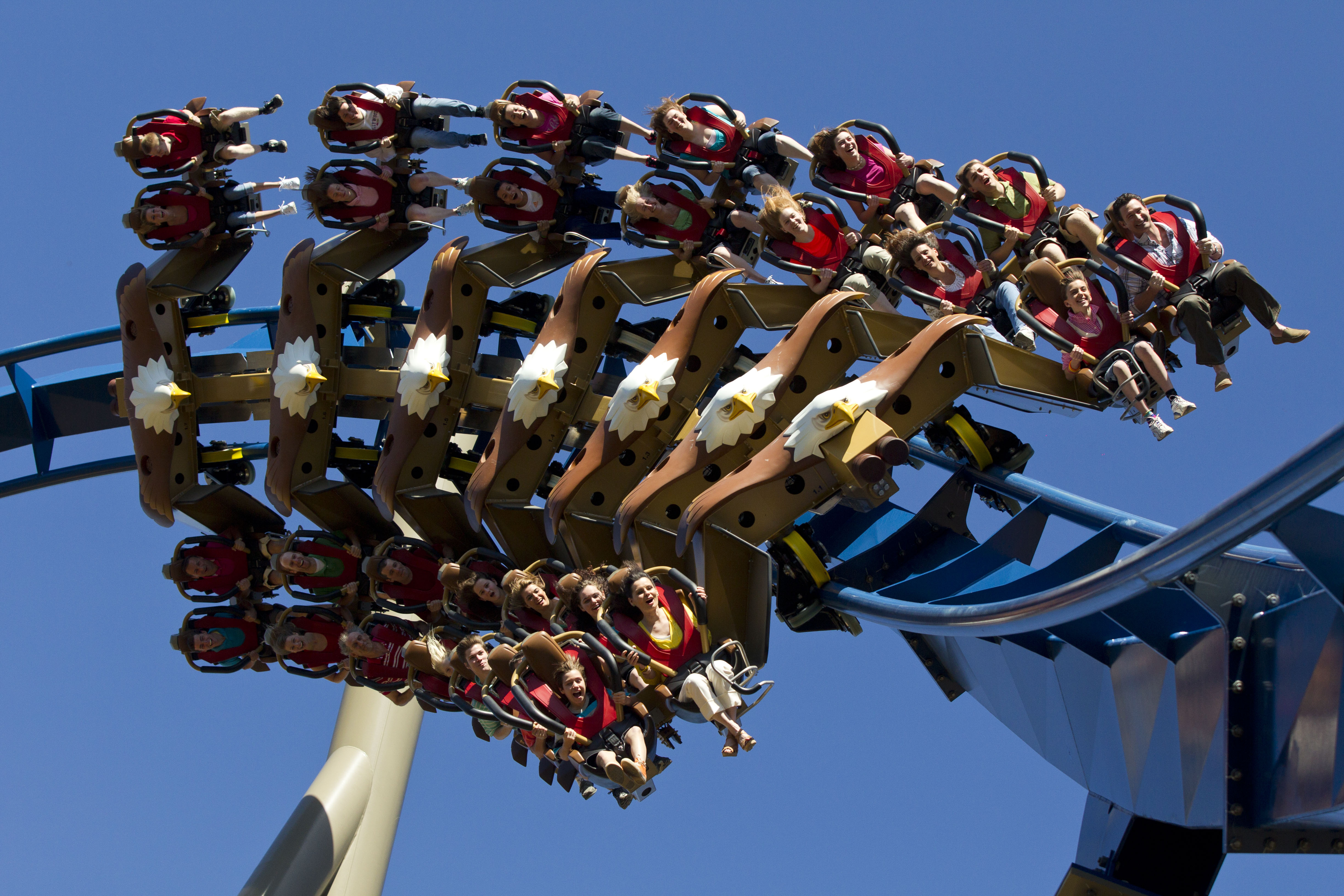 America's First Wing Coaster is at Dollywood! - White Oak ...