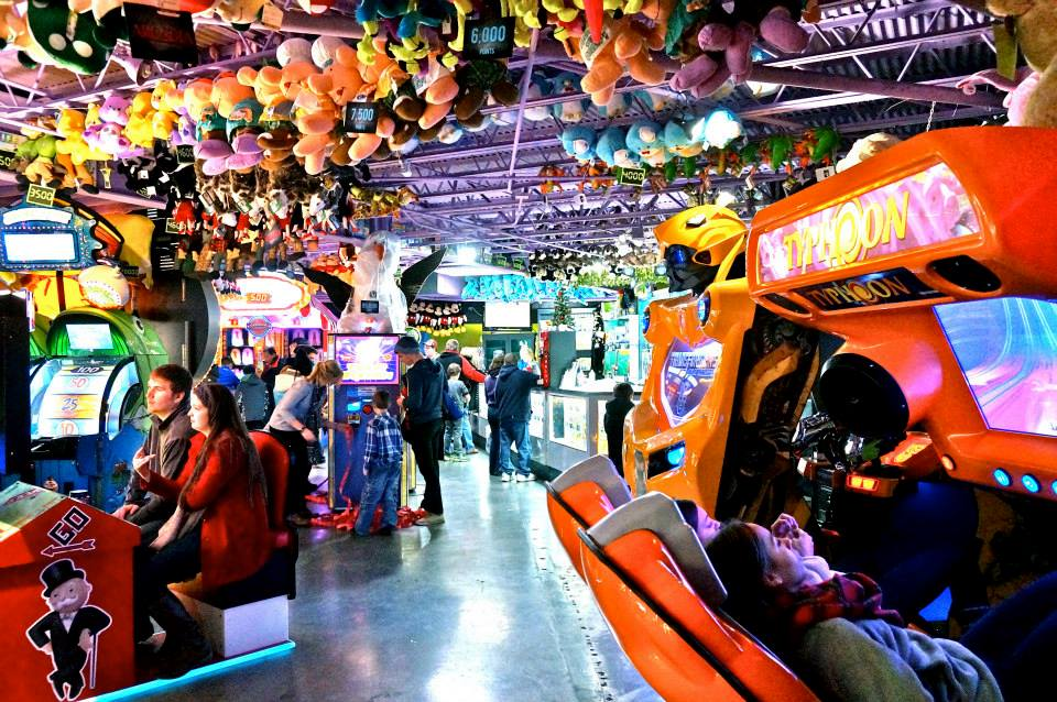 Stay, play and win prizes at the enormous two-story arcade located in the Gatlinburg Space Needle.