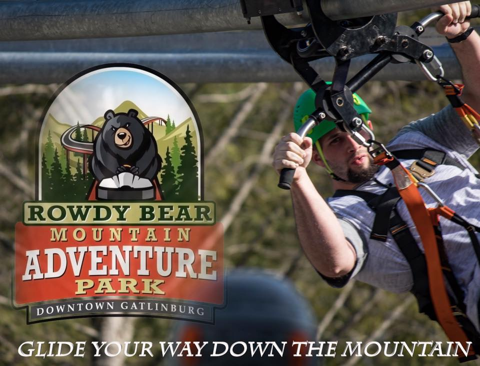 Gatlinburg S Rowdy Bear Mountain Glider Is The First Of